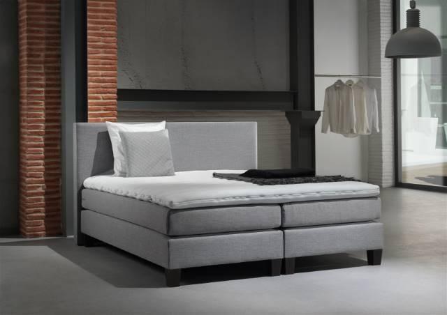 Skai Leren Bed.0070 I Bed Boxspring Recorbedding Meubelen Moens